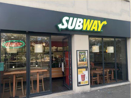Subway Montpellier